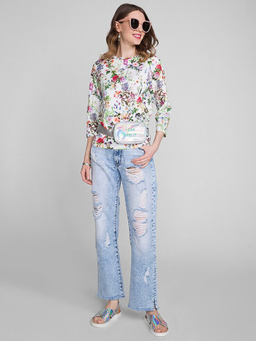GJN010134 джинсы женские, медиум/лайт