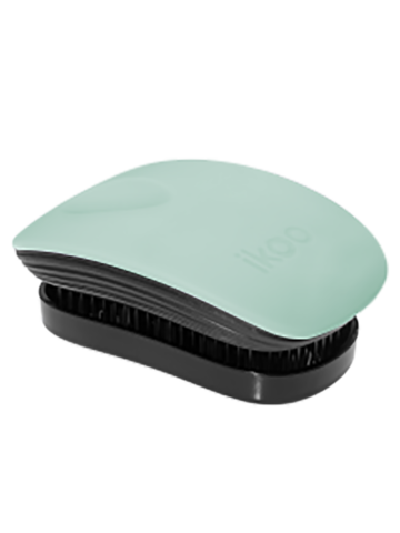 ikoo Pocket Black Bali Breeze Расческа для волос Океанский бриз