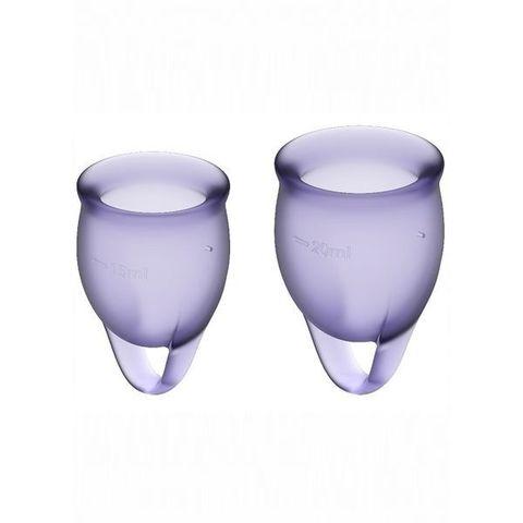 Satisfyer Feel confident Набор менструальных чаш Фиолетовый