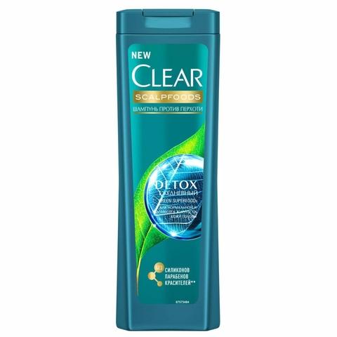 Шампунь CLEAR Detox Ежедневный 200 мл