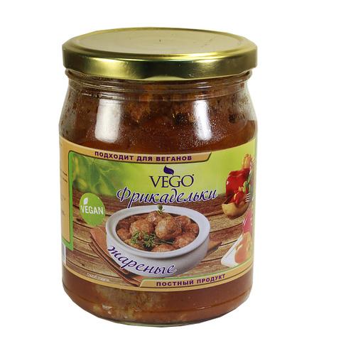 Фрикадельки жареные в соусе Вилли Фиеста, 500 гр. (ВЕГО)