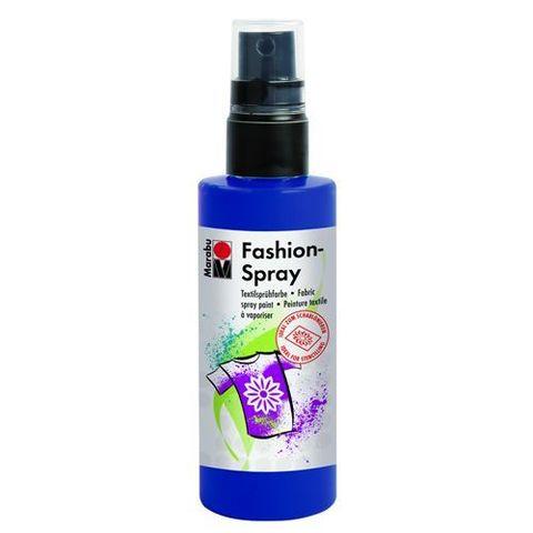 Краска-спрей для хлопка и льна Marabu-Fashion Spray 293 Тёмно-синий