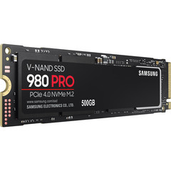 SSD диск Samsung 500GB 980 PRO PCIe 4.0 x4 M.2 SSD
