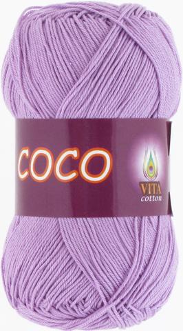 Пряжа Vita Coco 3869 сиреневый
