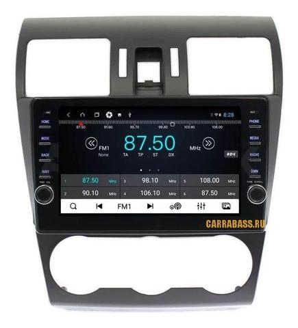 Штатная магнитола для Subaru Impreza 2012-2015 Android 8.1 4/64GB IPS DSP модель CB3025T9KR