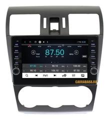 Штатная магнитола для Subaru Impreza 2012-2015 Android 10 4/64GB IPS DSP модель CB1025T9