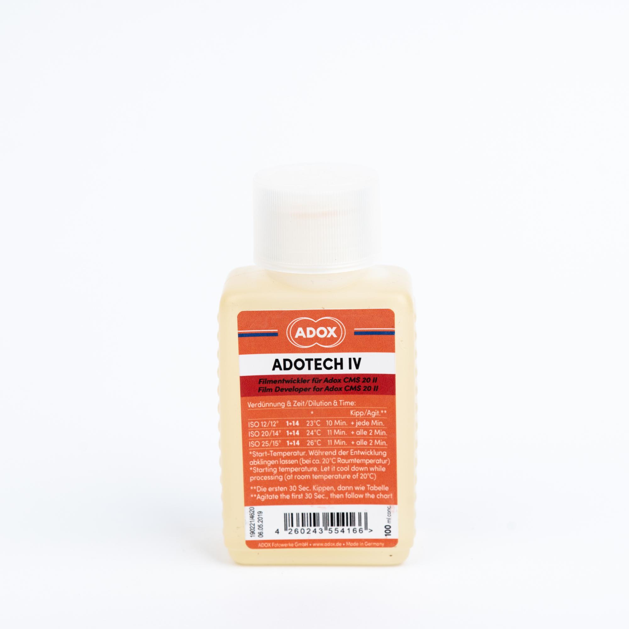 Проявитель ADOX Adotech IV 100ml (концентрат)