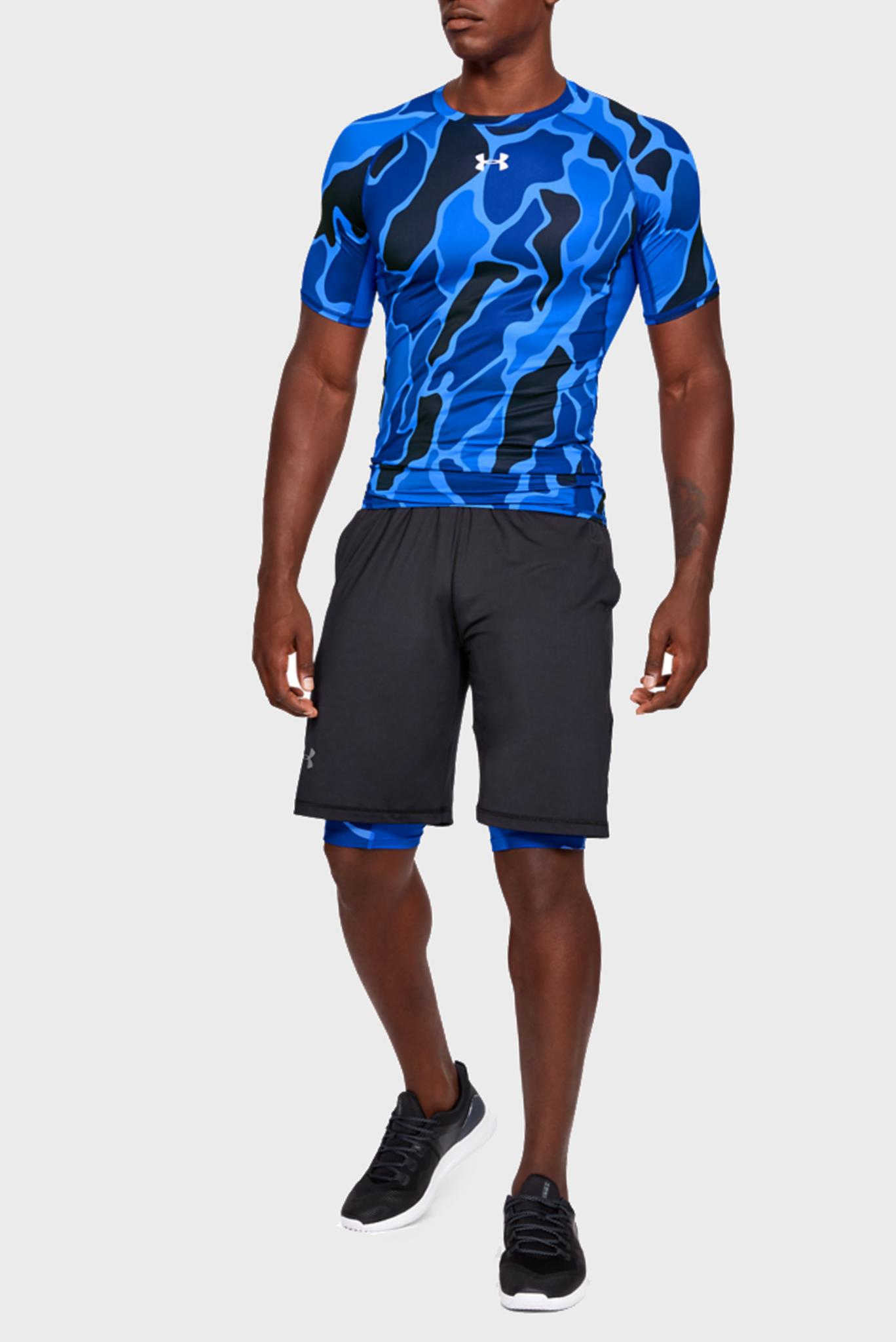 Мужская синяя футболка UA ARMOUR Under Armour