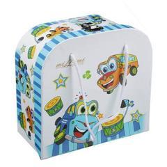 MILLIMI Машинки набор детской посуды,3 предмета, Костяной фарфор