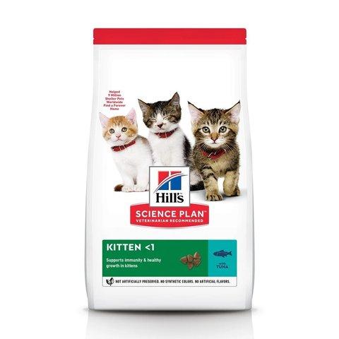 Сухой корм Hill's Science Plan для котят для здорового роста и развития, с тунцом