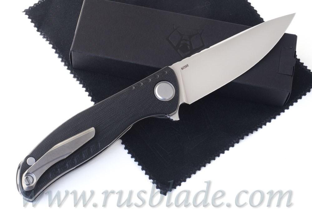 Shirogorov F3 NS M398 Black Micarta - фотография