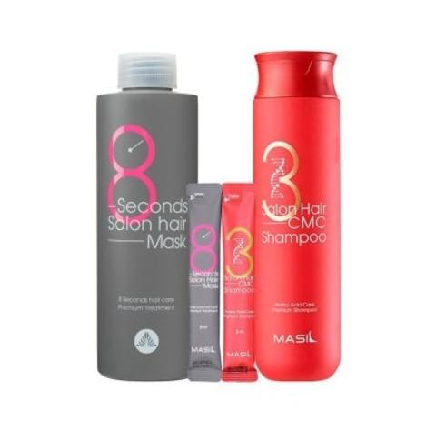 MASIL Набор шампунь +маска для волос (8 Second Salon Hair)