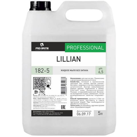 Мыло жидкое ПРОФ б/цвета и запаха Pro-Brite/Lillian, 5л