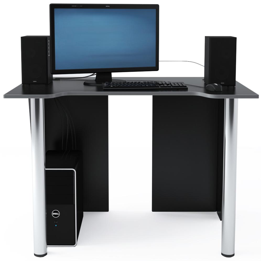 Стол Компьютерный LevelUP 1100 Черный/Серый