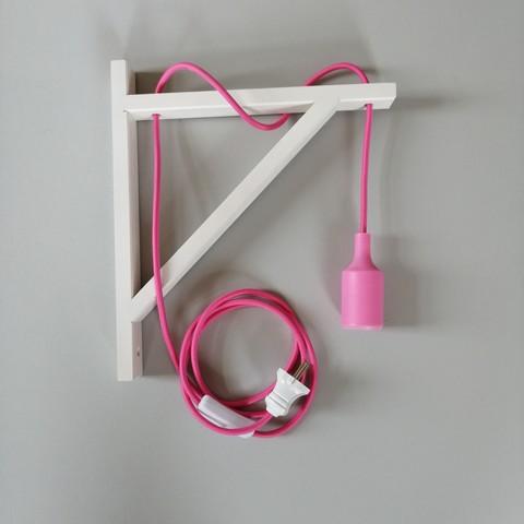 Светильник настенный Wood-S4 (White)