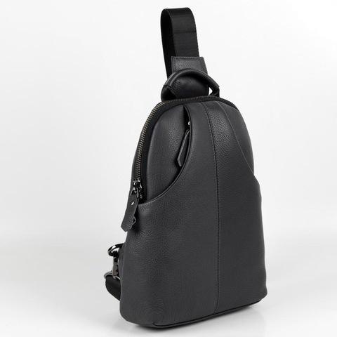 Мужской нагрудный рюкзак из кожи HT-073