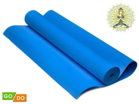 Коврик гимнастический. КВ6103  (Синий)