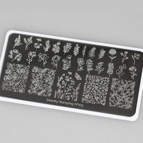 Пластина Swanky Stamping 103