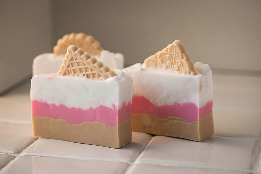 Мыло Печенье ассорти. Форма пластиковая