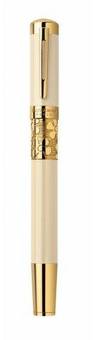 Перьевая ручка  Waterman Elegance, цвет: Ivory GT, перо: F123