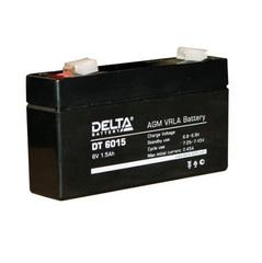 Аккумулятор Delta DT 6015 6В 1,2-1,3А\Ч