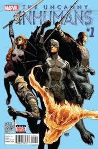 Uncanny Inhumans #1