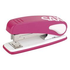 Степлер SAX DESIGN 239 (24/6, 26/6) 25 листов, розовый
