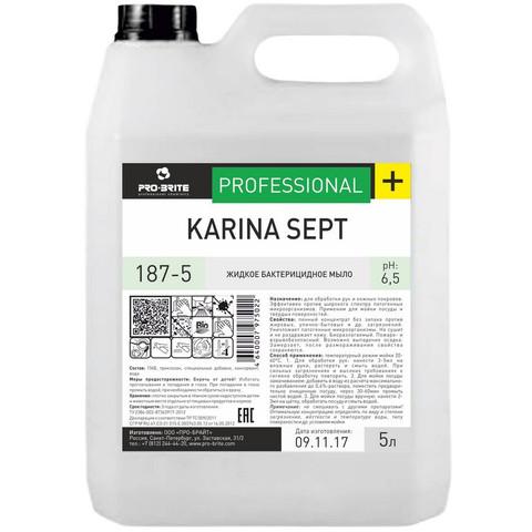 Мыло жидкое ПРОФ антибакт. Pro-Brite/Karina Sept, 5л