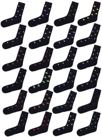 Набор Черных носков 24-11