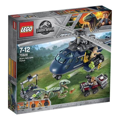 LEGO Jurassic World: Погоня за Блю на вертолёте 75928 — Blue's Helicopter Pursuit — Лего Мир юрского периода