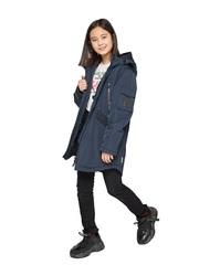 Детская куртка alpex км1184 (тёмно-синий)