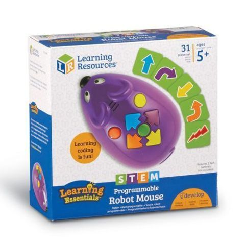 Learning Resources: STEM - Набор Робомышь LER2841 — Learning Resources Code & Go Robot Mouse