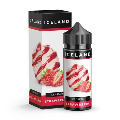 Жидкость Iceland 120 мл Strawberry