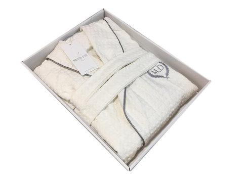 Вафельный мужской халат KARIUS - КАРИУС  Maison Dor