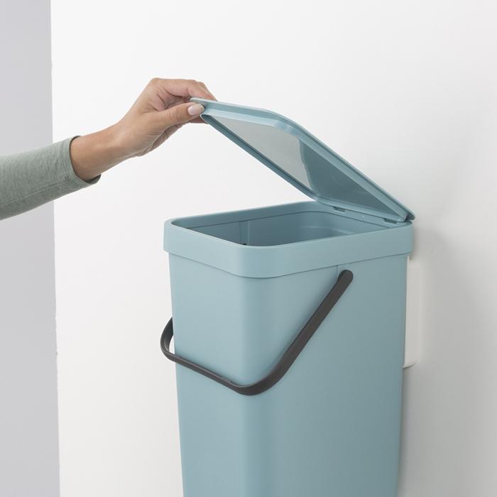 Встраиваемое мусорное ведро Sort & Go (16 л), Мятный, арт. 109843 - фото 1