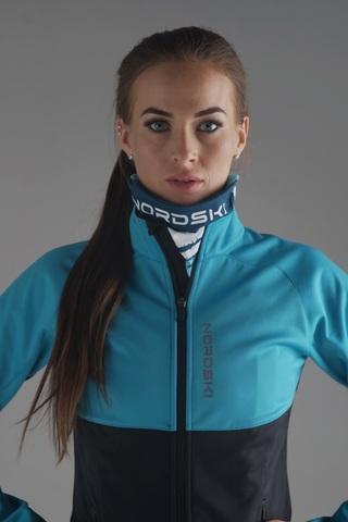 Разминочная куртка Nordski Premium Breeze/Black W женская