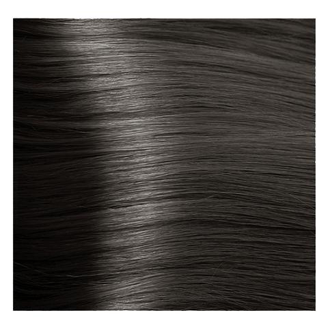 Крем краска для волос с гиалуроновой кислотой Kapous, 100 мл - HY 6.18  Темный блондин лакричный