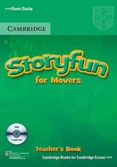 Storyfun for Starters, Movers, Flyers -  Movers Teacher's Book with Audio CDs (2)