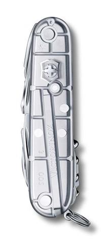 Нож Victorinox SwissChamp, 91 мм, 31 функция, полупрозрачный серебристый123