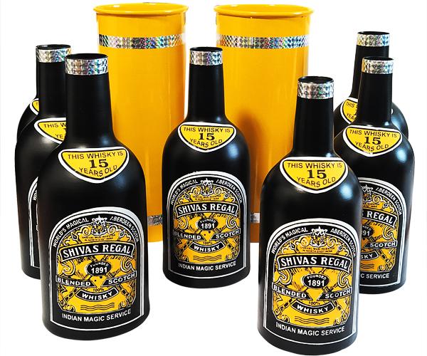 Размножающиеся бутылки Виски