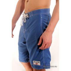 Мужские шорты пляжные синие ABERCROMBIE&FITCH 75892