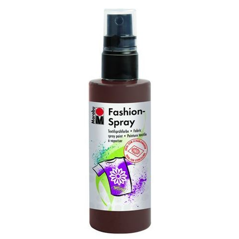 Краска-спрей для хлопка и льна Marabu-Fashion Spray 295 Какао
