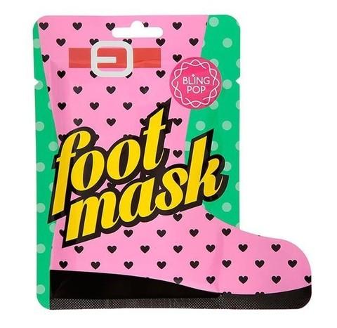 BLING POP Маска для ног с маслом ши BLING POP SHEA BUTTER HEALING FOOT MASK 18гр