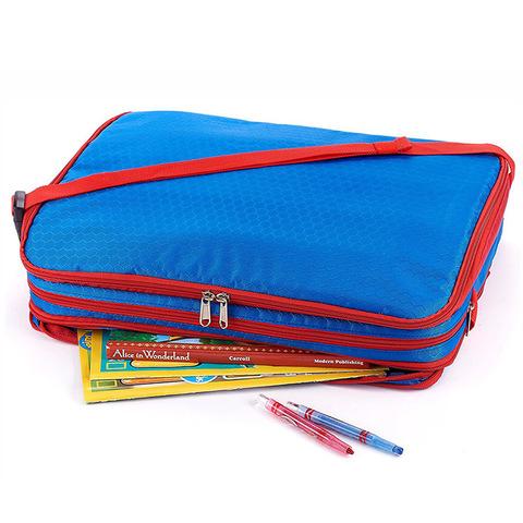 Детская дорожная сумка-органайзер 3-в-1