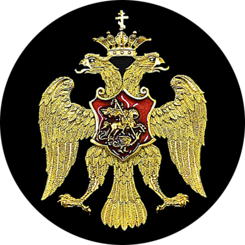 "Значок закатной ""Герб царства Русского"" (1)"