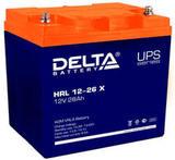 Аккумулятор Delta HRL 12-26 Х ( 12V 28  Ah / 12В 28  Ач ) - фотография