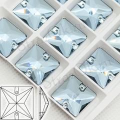Купить стразы для платья для танцев квадратные Light Blue, Square
