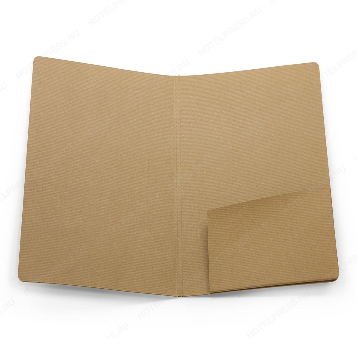 Папка-счет из дизайнерской бумаги  ПС_11