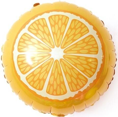 Фольгированный шар Апельсин