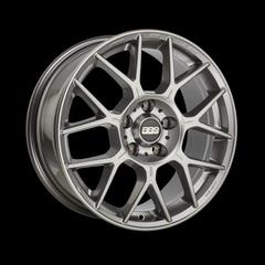 Диск колесный BBS XR 8x18 5x120 ET45 CB82.0 platinum silver